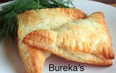 Bureka's (vegetarische pasteitjes)