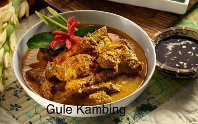 Gule Kambing (gestoofd lams- of geitenvlees)