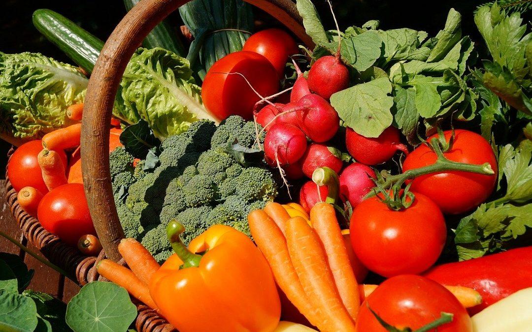 Goede voornemens voldoende groenten eten