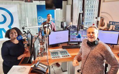 Kathleen Paal op de radio bij Rijnmond Fit