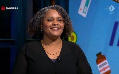 Diëtist Kathleen Paal op TV bij Kassa